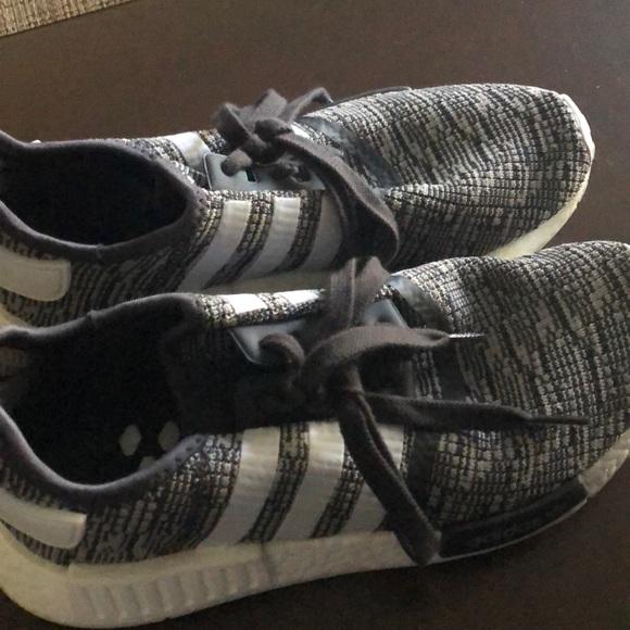 le adidas grey nmds mens 75 poshmark